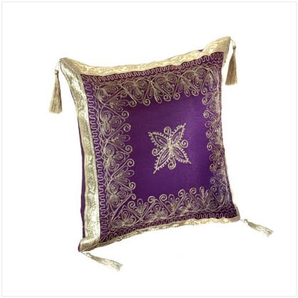 Royal Purple Accent Pillow