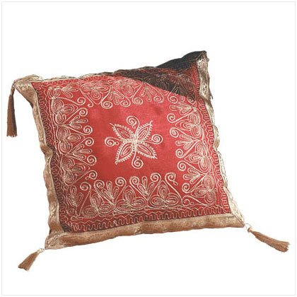 Imperial Burgundy Accent Pillow