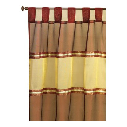Imperial Burgandy Curtain - E