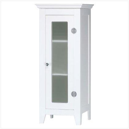 White Storage Cabinet - D