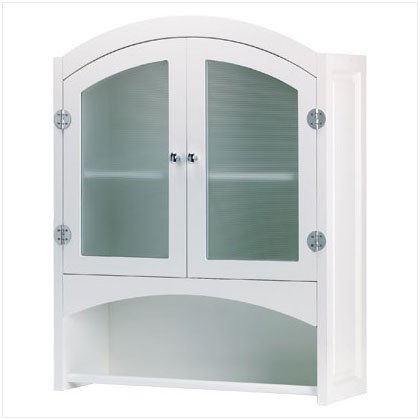 White Wall Cabinet - D