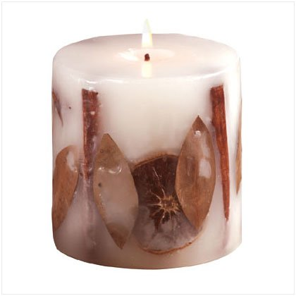 Orange Spice Candle - D