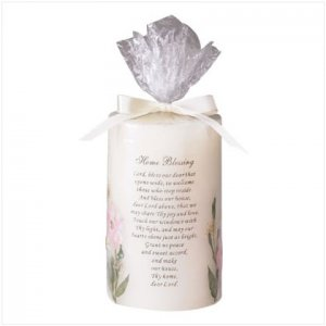Home Blessing Candle - D