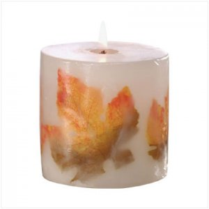Autumn Leaves Candle - D