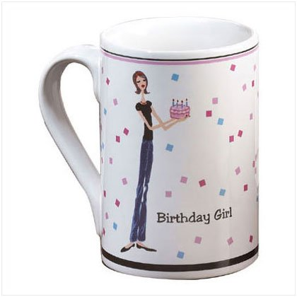 Birthday Girl Mug - D