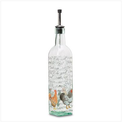 Rooster Oil Bottle - D