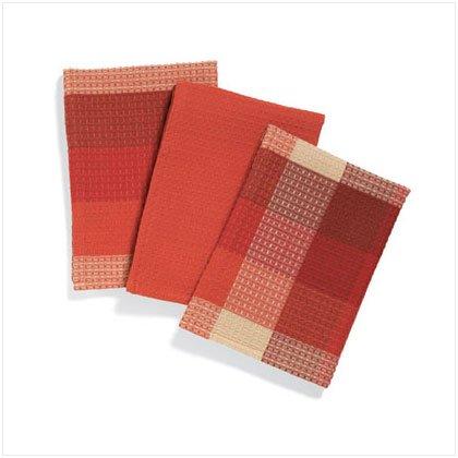 Striped Kitchen Towels - D