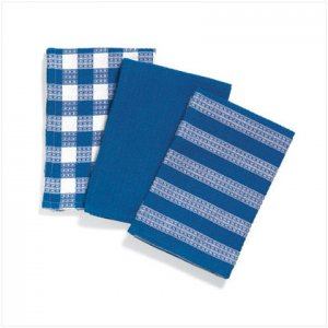 Blue Kitchen Towel Set - D