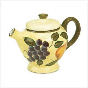 Garden Fruit Teapot - D