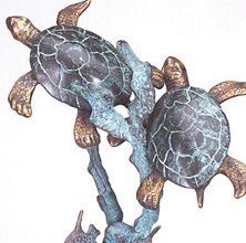 Turtle Sculpture - D