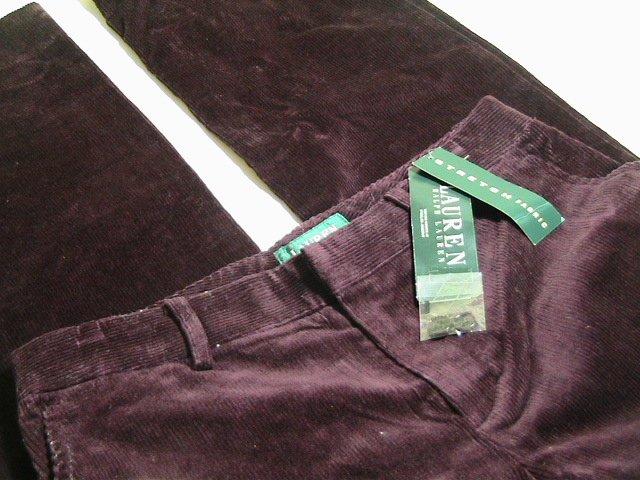Polo Ralph Lauren Women's Stretch Corduroy Pants Sz 6