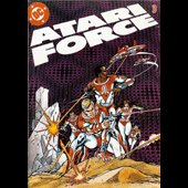 Star Raiders Atari Force #3 Comic - copyright 1982