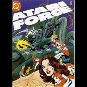 Galaxian Atari Force #5 Comic - copyright 1983