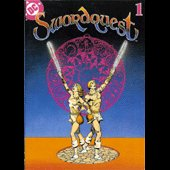 Swordquest EarthWorld Comic - copyright 1982