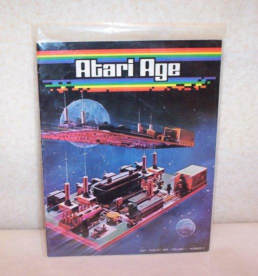 Atari Age Volume 1   Number 2 - July - August 1982