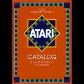 Atari 2600 1981 Large Red Catalog