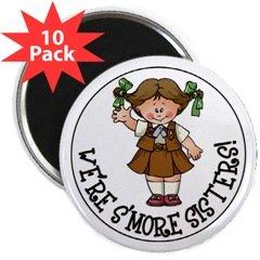 """Brownie 2.25"""" Magnet (10 pack)"""