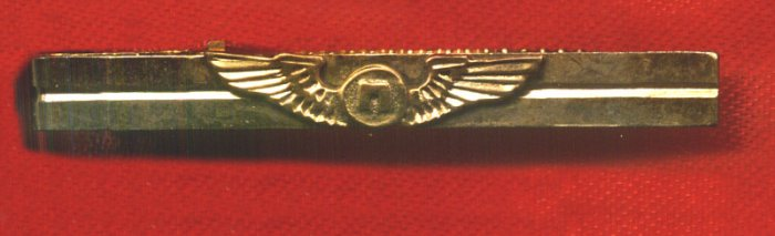 NERGIS AIR - TURKISH AIRLINE - PILOT WINGS TIE TACK - ULTRA RARE