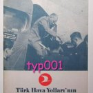TURKISH AIRLINES - 1976 THE HISTORY OF TURKISH AIRLINES BOOKLET - RARE