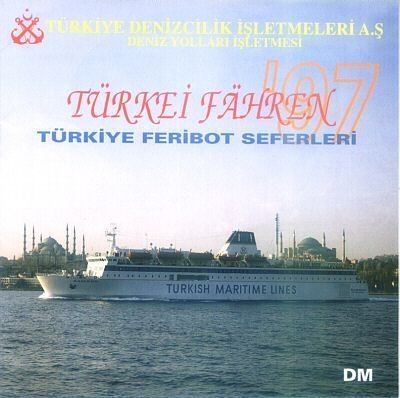 TURKISH MARITIME LINES - 1997 INTERNATIONAL LINES SAILING SCHEDULES & TARIFFS - RARE