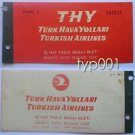 TURKISH AIRLINES - 1965 DOMESTIC LINES EXCESS BAGGAGE TICKET