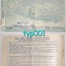 TURKISH STATE AIRLINES - DHY - 1952 ISTANBUL - ANKARA TICKET