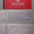 TURKISH AIRLINES - 1965 DIYARBAKIR - ISTANBUL ONE WAY TICKET
