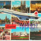 BRITISH AIRWAYS - 1981 CONCORDE OVER LONDON POSTCARD