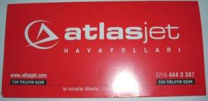 ATLASJET TURKISH AIRLINE - 2006 TICKET JACKET