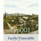 TURKISH AIRLINES - 2009 SUMMER SYSTEM TIMETABLE - 1. EDITION