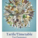TURKISH AIRLINES - 2010 SUMMER SYSTEM TIMETABLE - 2. EDITION