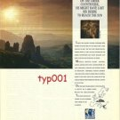 OLYMPIC AIRWAYS - 1991 - IF ICARUS HAD ONLY FOCUSED ON THE GREEK ... - PRINT AD