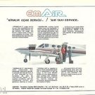 EM AIR - 1986 - AIR TAXI SERVICE IN TURKEY - TURKISH PRINT AD