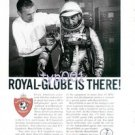 ROYAL GLOBE INSURANCE - 1964 - B.F.GOODRICH MADE SPACE SUIT PRINT AD