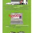 TURKISH AIRLINES - THE IMPORTANT POINTS OF FLYING ON TIME PAMPHLET