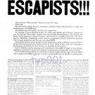 ALITALIA - 1964 - ATTENTION ESCAPISTS!!! - PRINT AD