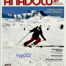 ANADOLU JET - 2012 FEBRUARY IN FLIGHT MAGAZINE - TURKISH AIRLINE - SKIING COVER