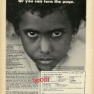 SAVE THE CHILDREN FEDERATION -1979 - SAVE MARIA ALMANZAR - PRINT AD