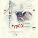 1998 NAGANO JAPAN WINTER OLYMPICS SPONSORS PRINT AD COCA COLA IBM KODAK UPS VISA
