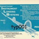 PHILIPS - 1973 - ILS INSTRUMENT LANDING SYSTEMS PRINT AD