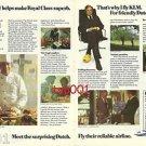 KLM - 1975 - CHEF LABBE MAKE ROYAL CLASS SUPERB PRINT AD