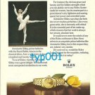 ROLEX - 1975 - ANTOINETE SIBLEY PRINT AD - ROLEX LADY DATEJUST