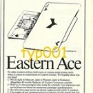 AUSTRIAN AIRLINES 1976 - EASTERN ACE PRINT AD