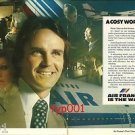 AIR FRANCE - 1976 - A COSY WORLD PRINT AD - FIRST CLASS