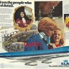 KLM - 1976 - FROM PEOPLE WHO INVENTED DETAIL  PRINT AD