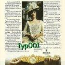 ROLEX - 1979 - KIRI TE KANAWA PRINT AD - ROLEX LADY DATEJUST