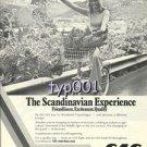 SAS SCANDINAVIAN AIRLINES - 1976 SCANDINAVIAN EXPERIENCE PRINT AD