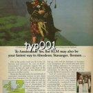 KLM - 1979 - FASTEST WAY TO ABERDEEN, STAVANGER, BREMEN PRINT AD