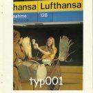 LUFTHANSA - 1980 - MOOSE HORNS PRINT AD