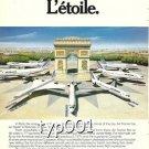 AIR FRANCE - 1980 - L'ETOILE PRINT AD